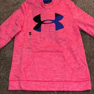 girls youth large under armour hoodie NWT
